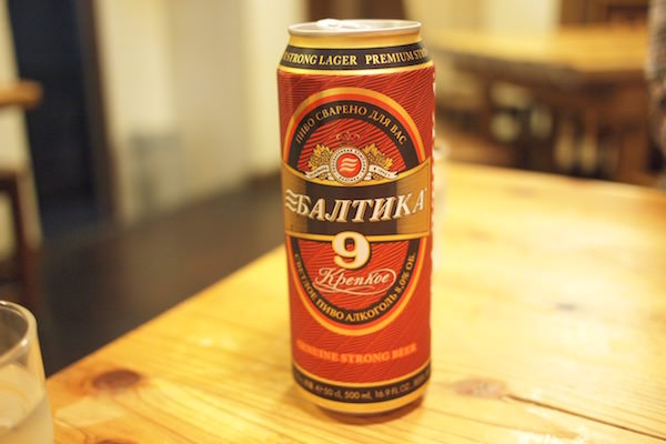 ロシアビール
