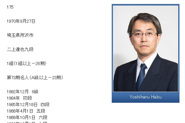 ※画像は日本将棋連盟公式サイトのスクリーンショットです