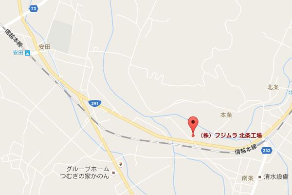画像はGoogle Mapのスクリーンショット