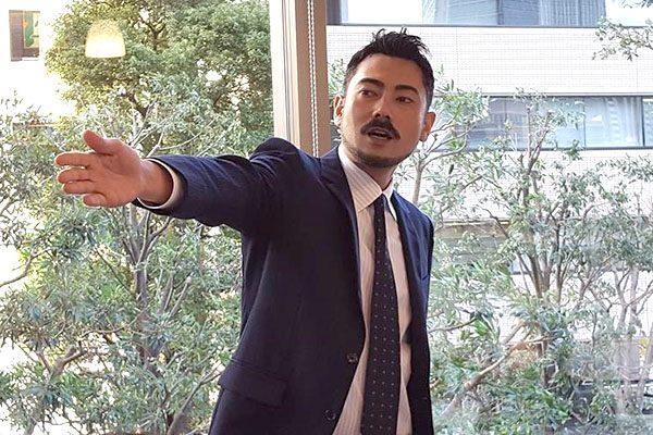 (「ルーミート」を輸入販売するバセル株式会社・長友隼人エリック氏)