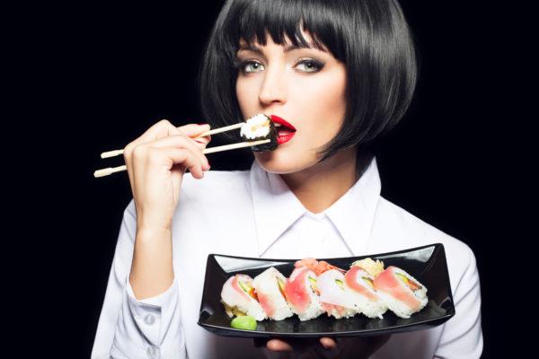 外国人寿司