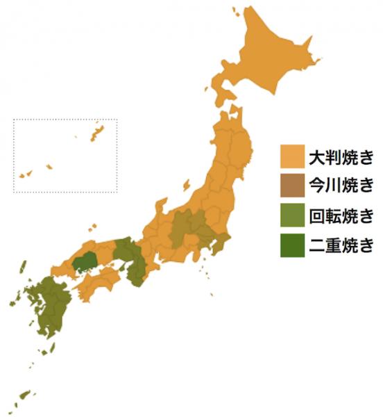 ... 日本地図をご覧ください