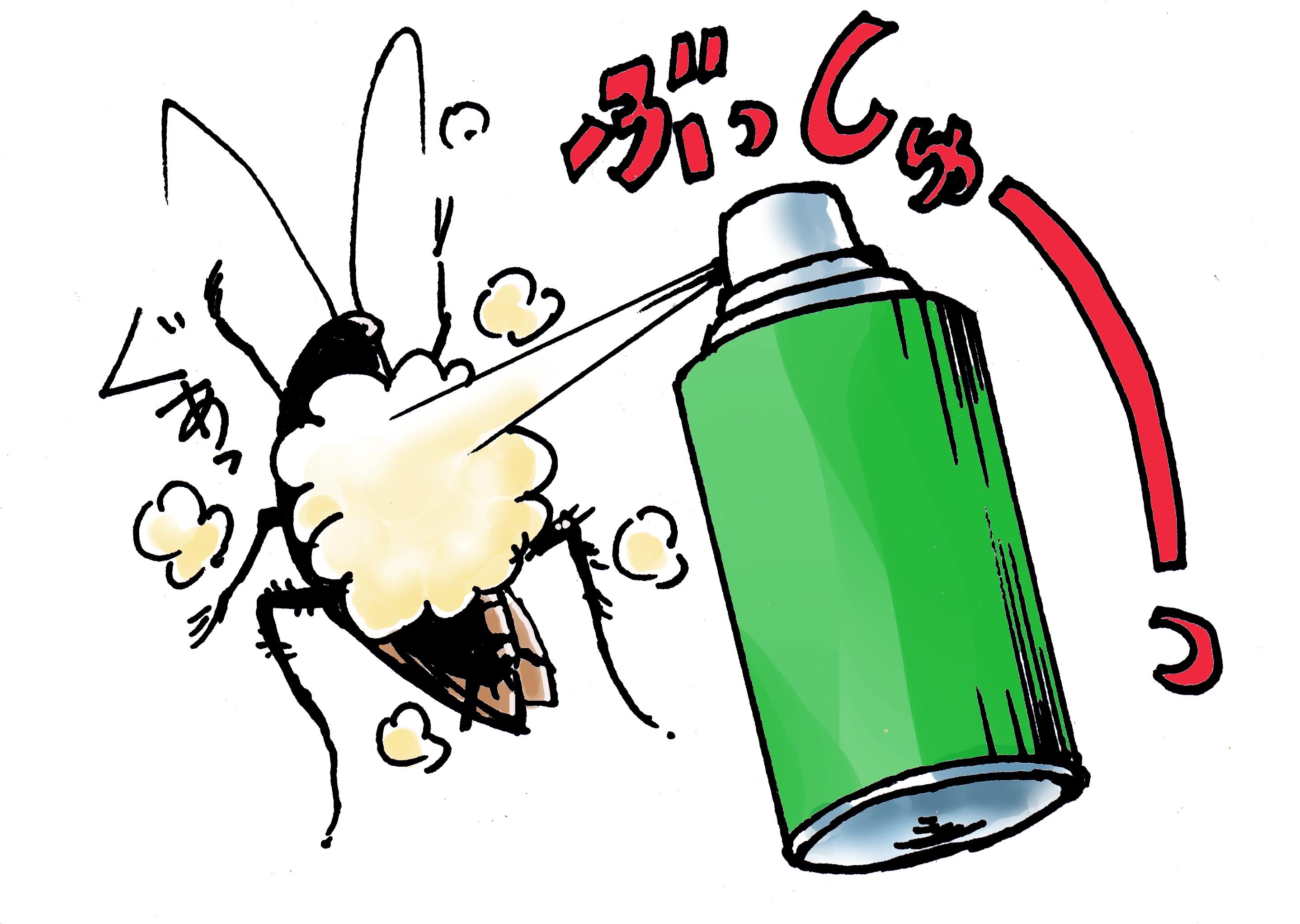 0217しらべぇ「ゴキブリ対処」写真