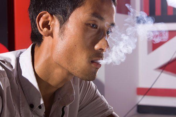 たばこ休憩
