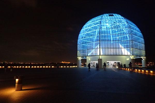 夜の葛西臨海水族園