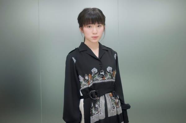 髪のアクセサリーが素敵な蒼波純さん