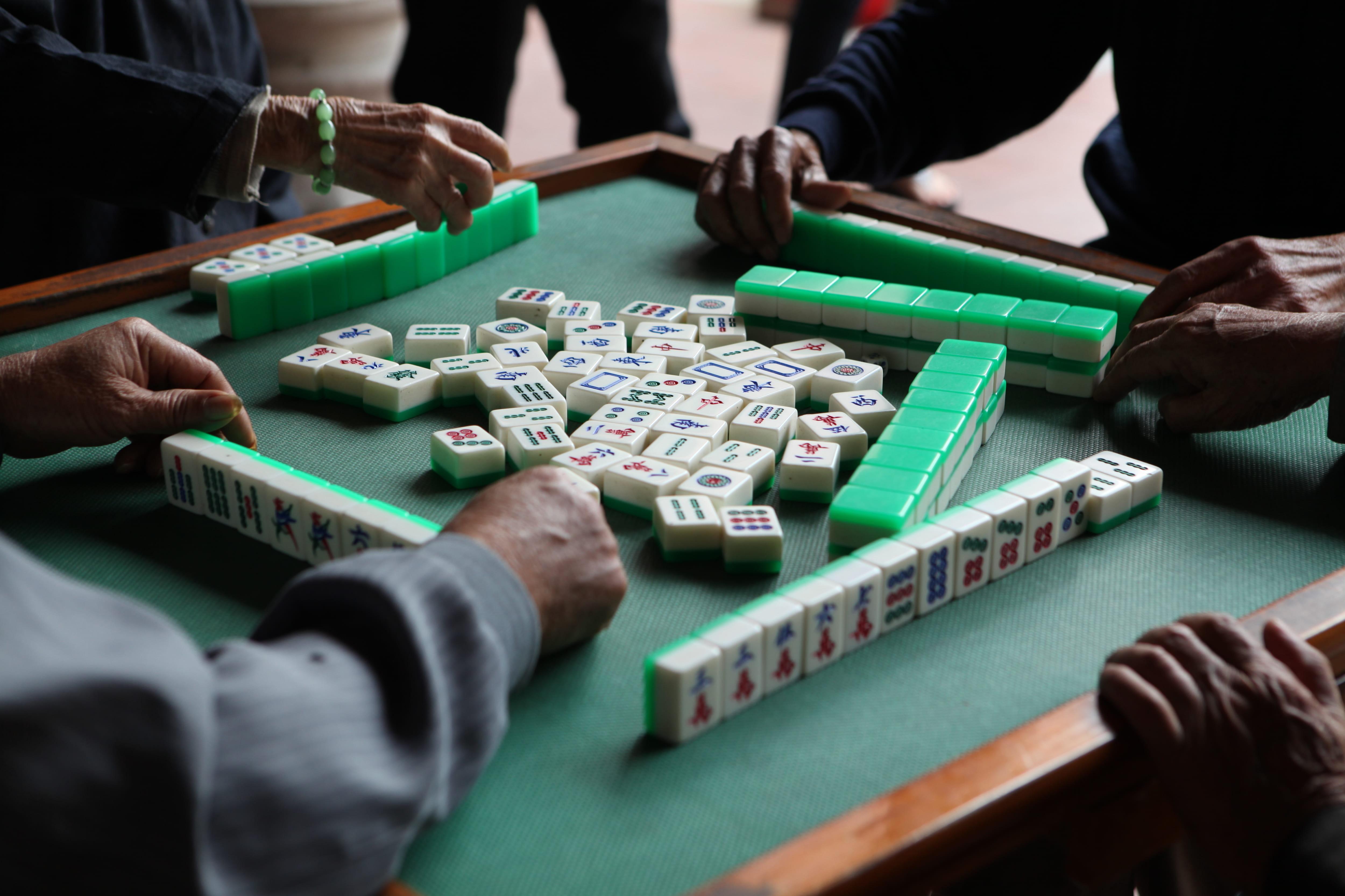 賭け麻雀キャッチ