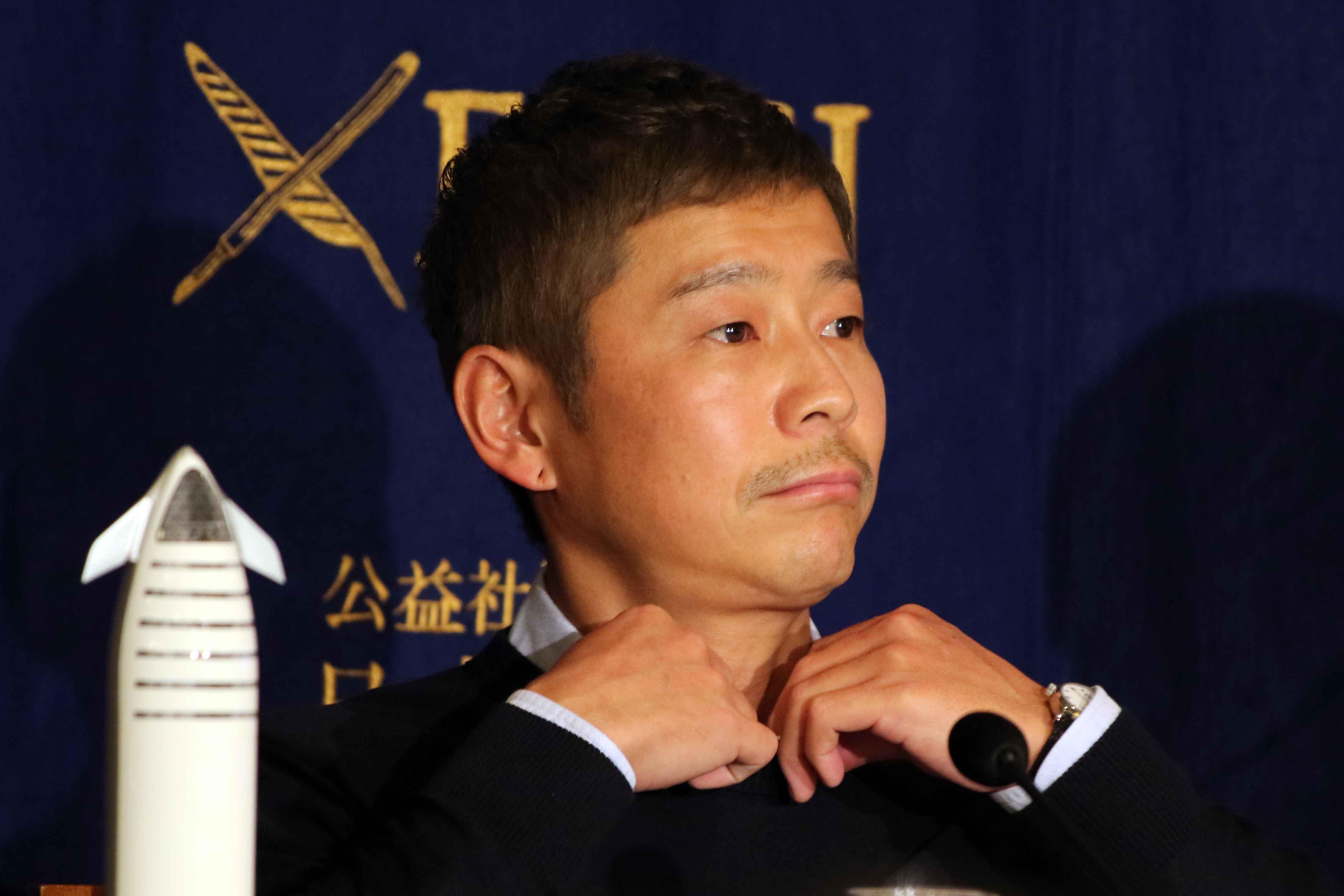 前澤友作氏