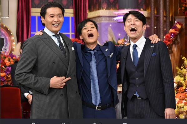 貴乃花、名倉潤、原田泰造