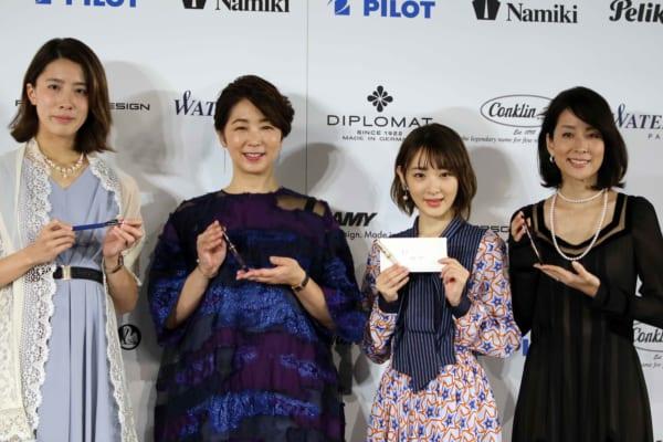 大橋選手、中井美穂、生駒里奈、内田恭子